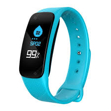 <b>L6</b> Color Screen Smart Bracelet <b>Heart Rate</b> Blood Pressure Call ...