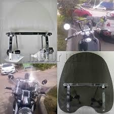 "<b>Motorcycle Windshield Windscreen</b> For 19""x17"" Honda Shadow ..."
