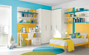 themed kids room designs cool yellow:   blue yellow white bedroom decor