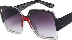<b>Trend big frame</b> woman <b>sunglasses fashion</b> colorful glitter glasses ...