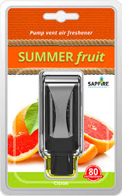 <b>Освежители воздуха</b> в машину SAPFIRE <b>Summer</b> fruits Цитрон в ...