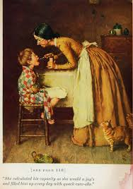 norman rockwell illustrates mark twain s tom sawyer huckleberry sawyer 2