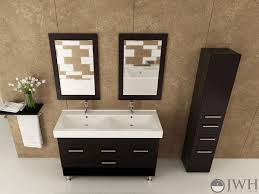 55 inch double sink bathroom vanity: quot rigel double sink vanity jwh   quot rigel double sink vanity