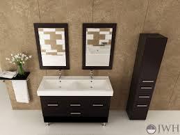 55 inch double sink bathroom vanity: quot rigel double sink vanity jwh   quot rigel double sink vanity