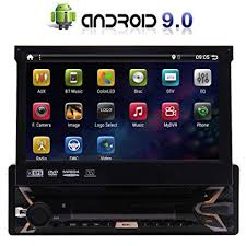 Android 9.0 <b>7inch</b> Flip Out Capacitive Touch Screen 1Din <b>Car</b> DVD ...