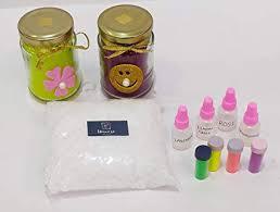 <b>Unicorn</b> Decor Candle Making Kit - Candle Paraffin Wax (400 gm ...