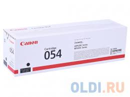<b>Картридж Canon 054 Bk</b> черный (black) 1500 стр. для Canon i ...