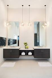 bathroom ceiling globes design ideas light: contemporary master bathroom with limestone tile floors pendant light master bathroom double sink
