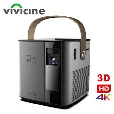 <b>Vivicine</b> Newest P12 3D 4K Projector,Android WIFI HDMI USB ...