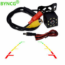 BYNCG 8 LED Night Visions Car Rear View <b>Camera</b> Wide Angle ...