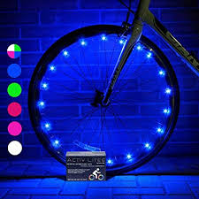Activ Life Bike Wheel Lights (1 Tire, Blue) Gifts for ... - Amazon.com