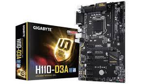 <b>Материнская плата Gigabyte GA-H110-D3A</b>