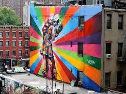 США уличные граффити