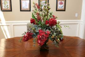 flower arrangements dining room table: dining room flowers dining room gloss mahogany table combined
