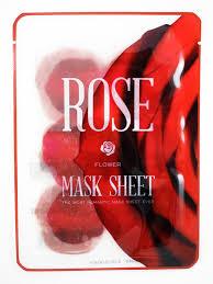 <b>Маски</b>-<b>слайсы тканевые с экстрактом</b> розы Kocostar Sheet Rose ...