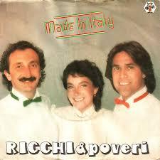 <b>Ricchi</b> & <b>Poveri</b>* - <b>Made</b> In Italy (1981, Vinyl) | Discogs
