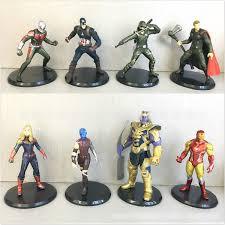 <b>8Pcs set Avengers</b> Endgame Action Figures toys <b>Marvel Avengers</b> 4 ...