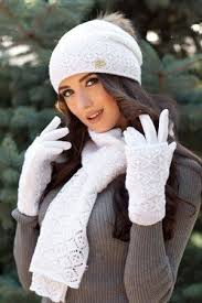 Комплект «Афродита» (шапка, шарф и <b>перчатки</b>)   Шапка ...