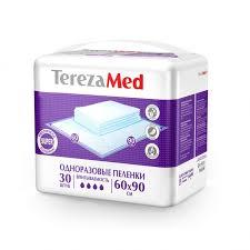 Пеленки <b>одноразовые Super</b> 60x90 30 шт. <b>TerezaMed</b> - купить ...