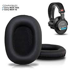 Amazon.com: Upgraded <b>Sony</b> MDR 7506 <b>Replacement Ear Pads</b> by ...