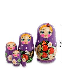 <b>Матрешка Art East</b>, <b>Настенька</b>, 5 Шт, Подарки, Сувениры, Цветы ...