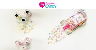 <b>Custom</b> Candy Hearts & Mints | Personalize Text & Logos on ...