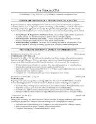 controller resume samples template controller resume samples
