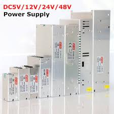 Hot Sale AC85 265V <b>110V 220V</b> to DC5V 12V <b>24V 48V</b> 1A 2A 3A ...