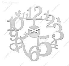 <b>Часы настенные</b> из поликарбоната и пластика 44,3х44,8х2 см в ...