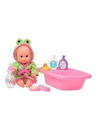 <b>Набор</b> для купания с <b>пупсом Play Baby</b> Toys Lab 6043800 в ...