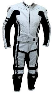 2 pc Perrini Ghost Motorcycle Racing Leather Suit ... - Amazon.com