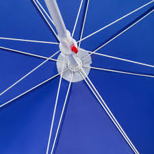 <b>Зонт пляжный Mojacar</b>, синий с логотипом - цена от 1150 руб ...