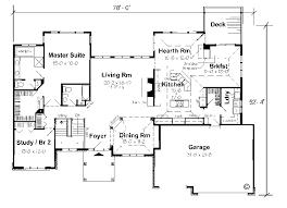 Ranch House Floor Plans   Walkout Basement Single Story Open    Ranch House Floor Plans   Walkout Basement Single Story Open Floor Plans