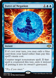Force of Negation (Modern <b>Horizons</b>) - Gatherer - Magic: The ...