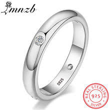 Silver <b>Simple</b> Smooth Wedding Ring Promotion-Shop for ...