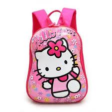 Hello <b>Kitty</b> High Quality Shell Kids <b>Kindergarten School Bag</b> Backpack