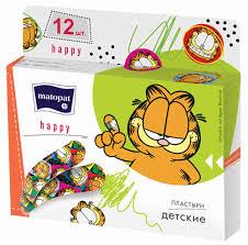 <b>Пластырь Matopat Happy 12шт</b> - купить с доставкой в интернет ...