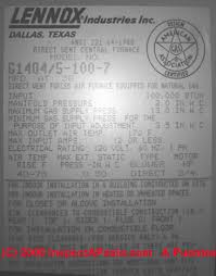 lennox recall lennox pulse furnace safety problems recall lennox furnace inspection program and heat exchanger warranty program