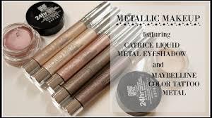 METALLIC MAKEUP TREND ft. <b>Catrice Liquid</b> Metal and Maybelline ...
