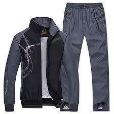 Modern Fantasy <b>Men's</b> Athletic <b>Striped Tracksuit</b> Joggers <b>Running</b> ...