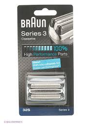 Braun <b>Сетка</b> + <b>режущий блок</b> 32S Series3 MicroComb Braun ...