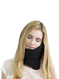 <b>Подушка</b> для путешествий <b>Roadlike Scarf Pillow</b>, черная