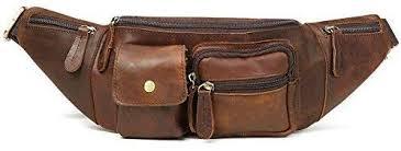 JOYIR Genuine Leather Waist Bag Vintage ... - Amazon.com
