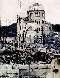 「被爆直後の原爆ドーム」の画像検索結果