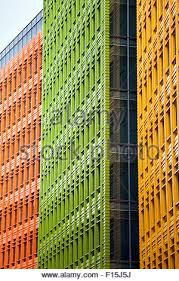 colourful modern building facades central saint giles london uk stock photo central saint giles office building google