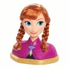 <b>Disney Frozen Anna</b> Deluxe Styling Head - Walmart.com