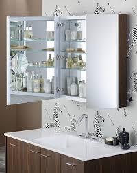 sliding bathroom mirror:  bathroom mirror cabinet medicine cabinet with magnifying mirror