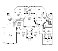 Clayton Atrium Ranch Home Plan D    House Plans and MoreSunbelt Home Plan First Floor   D    House Plans and More