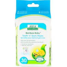 Aleva Naturals, <b>Bamboo Baby</b> Wipes, Tooth 'n' Gum, 30 Wipes ...