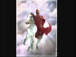 Image result for jesus riding a horse